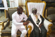 Former GFA Vice President, Geroge Akwasi Afriyie visited the Chief Imam today