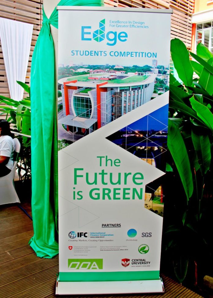 IFC EDGE Students competition slogan: The Future is Green
