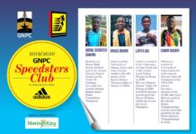 2019/2020 GNPC Speedsters Club