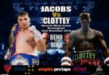 Tommy Jacobs and Joshua Clottey Fight