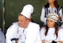 Mr Jeremy Llewelyn and Madam Parvoleta Shtereva