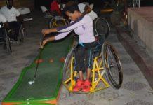 Wheelchair MiniGolf
