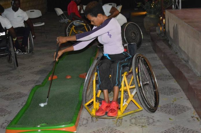 Wheelchair MiniGolf