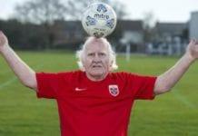 World's Oldest Footballer Dickie Borthwick