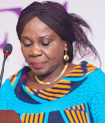 Madam Cecilia Abena Dapaah