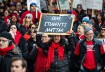 Chicago Teachers Strike during October 2019