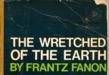 Frantz Fanon Cover of the Wretched of the Earth