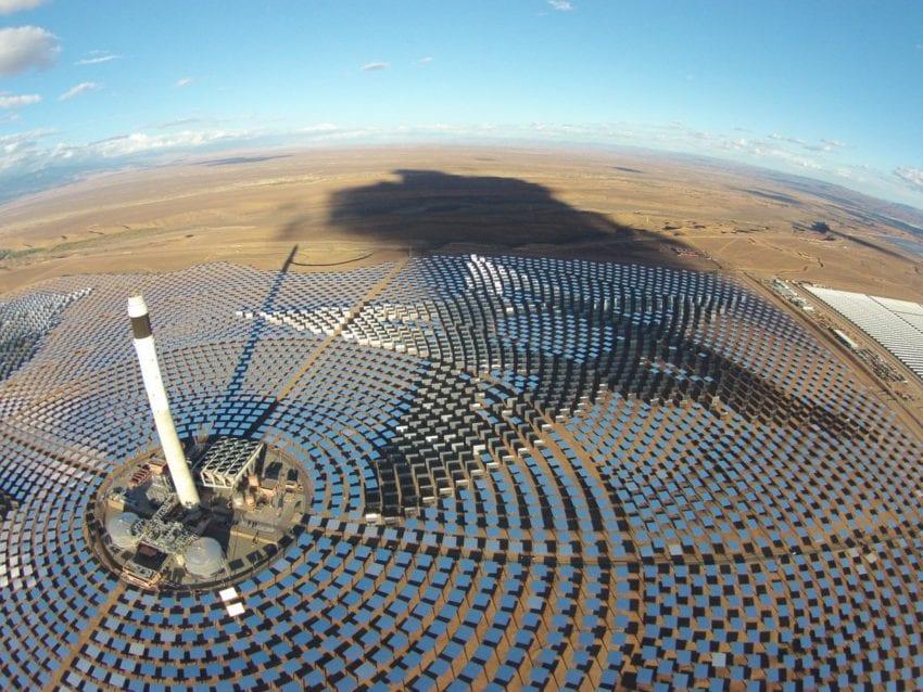 Noor Solar Plant in Ouarzazate, Morocco