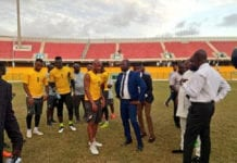Ghana fa and black stars