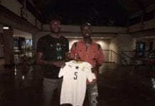 Awal Suleman, , famous pitch invader has met his idol, Thomas Partey.