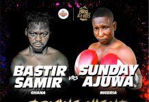 Bastie Samir and Sunday Ajunwa