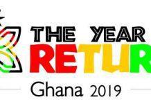 year of return 2019 logo