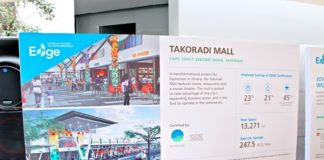 Takoradi Mall was EDGE certified by SGS thinkstep in December 2018