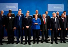 Berlin Conference on Libya held in Jan. 2020