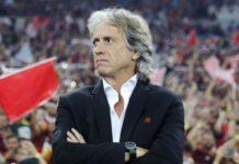Flamengo head coach Jorge Jesus