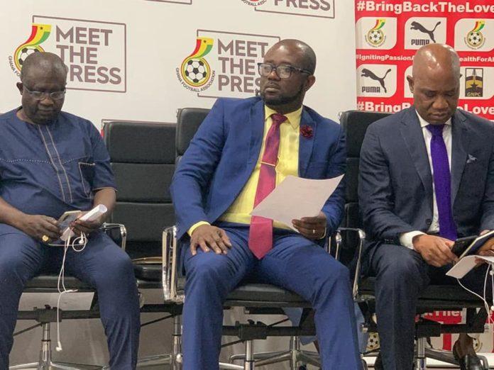 GFA Holds Maiden 'Meet The Press'