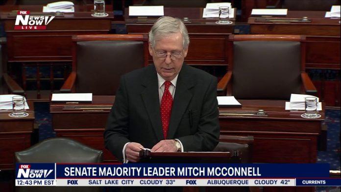 U.S. Senate Majority Leader Mitch McConnell