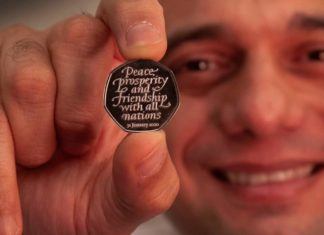 new commemorative 50p coin to mark Britain's departure from the EU next week