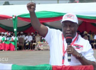 Major General Evariste Ndayishimiye