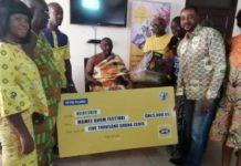 MTN Donates To Manfe Akuapem Ohum Festival