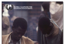 Global campaign for Rwanda human rights