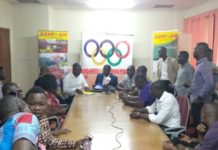 Ashfoam Cushions Ghana Olympic Committee With US$20k For Tokyo 2020 Preparations
