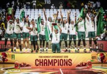 Nigeria Women's Basketball Team