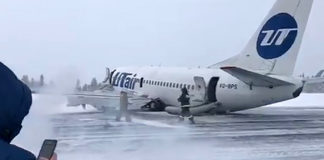 Russian airliner