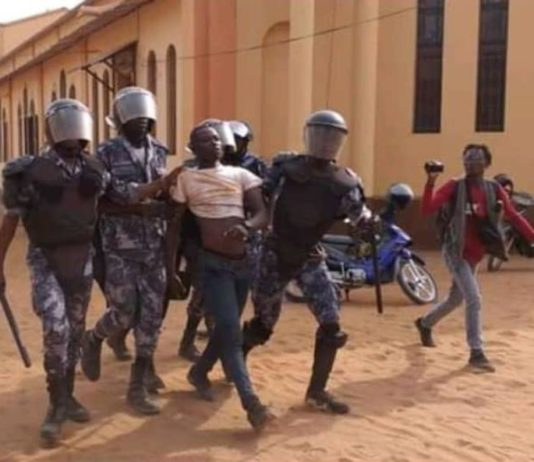 Togo military chases opposition demonstrators