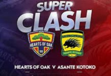 Hearts of Oak vs Asante Kotoko